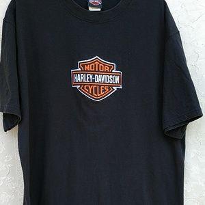 Harley Davidson  Large Bar and Sheild T- shirt